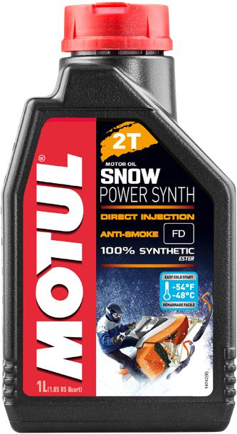 Масло моторное MOTUL (Мотюль) SNOWPOWER Synth 2T (1л)